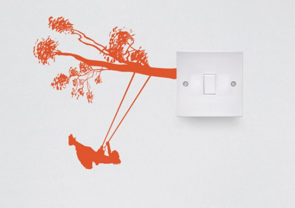 Modern Switch Wall Decal